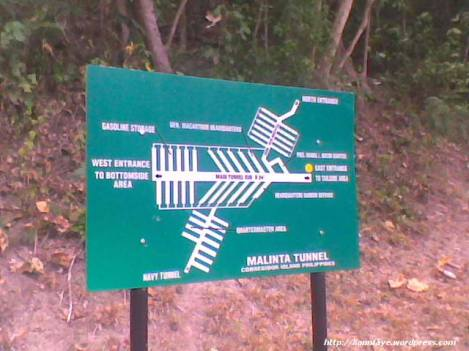 Malinta Tunnel mapped out