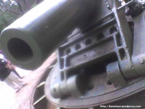 a 12-inch coastal defense gun at Battery Way